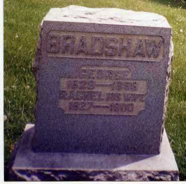 BRADSHAW, GEORGE - Tuscarawas County, Ohio | GEORGE BRADSHAW - Ohio Gravestone Photos