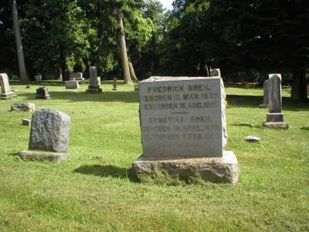 KAPPEL BREIL, ERNESTINA - Tuscarawas County, Ohio | ERNESTINA KAPPEL BREIL - Ohio Gravestone Photos