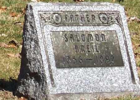 BREIL, SALOMON - Tuscarawas County, Ohio | SALOMON BREIL - Ohio Gravestone Photos