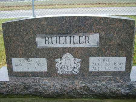 BUEHLER, NORMA J. - Tuscarawas County, Ohio | NORMA J. BUEHLER - Ohio Gravestone Photos