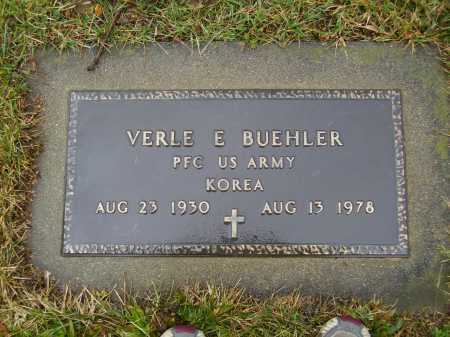 BUEHLER, VERLE E. - Tuscarawas County, Ohio | VERLE E. BUEHLER - Ohio Gravestone Photos