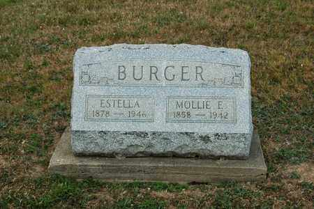 BURGER, ESTELLA - Tuscarawas County, Ohio | ESTELLA BURGER - Ohio Gravestone Photos