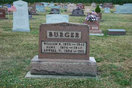 BURGER, WILLIAM B. - Tuscarawas County, Ohio | WILLIAM B. BURGER - Ohio Gravestone Photos