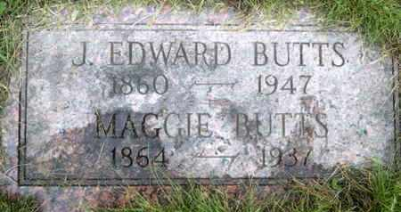 BUTTS, JOSEPH EDWARD - Tuscarawas County, Ohio | JOSEPH EDWARD BUTTS - Ohio Gravestone Photos