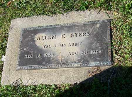 BYERS, ALLEN E.   (MIL) - Tuscarawas County, Ohio | ALLEN E.   (MIL) BYERS - Ohio Gravestone Photos