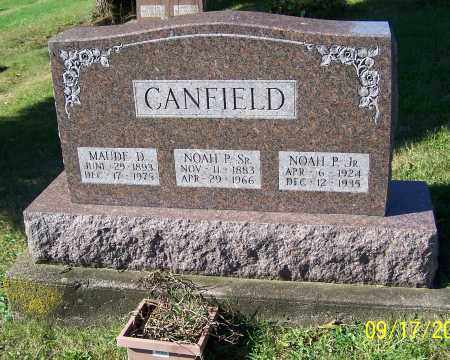 CANFIELD, NOAH P.  SR. - Tuscarawas County, Ohio | NOAH P.  SR. CANFIELD - Ohio Gravestone Photos