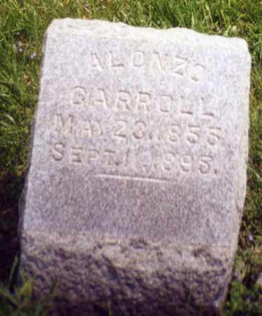 CARROLL, ALONZO - Tuscarawas County, Ohio | ALONZO CARROLL - Ohio Gravestone Photos