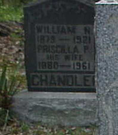 SCHULL CHANDLER, PRISCILLA P. - Tuscarawas County, Ohio | PRISCILLA P. SCHULL CHANDLER - Ohio Gravestone Photos