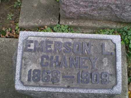 CHANEY, EMERSON L - Tuscarawas County, Ohio | EMERSON L CHANEY - Ohio Gravestone Photos
