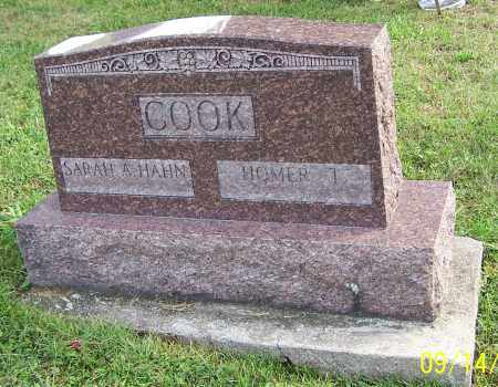 COOK, HOMER T. - Tuscarawas County, Ohio | HOMER T. COOK - Ohio Gravestone Photos