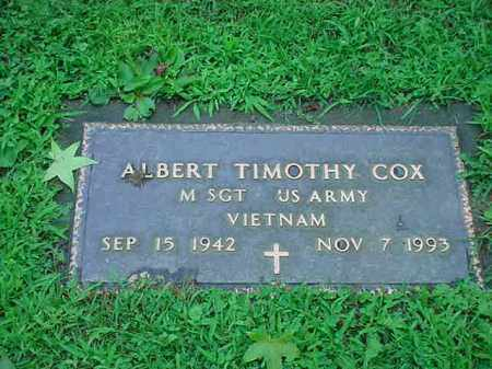COX, ALBERT TIMOTHY - Tuscarawas County, Ohio | ALBERT TIMOTHY COX - Ohio Gravestone Photos