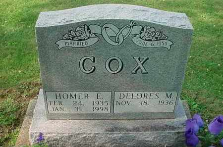 COX, HOMER E - Tuscarawas County, Ohio | HOMER E COX - Ohio Gravestone Photos