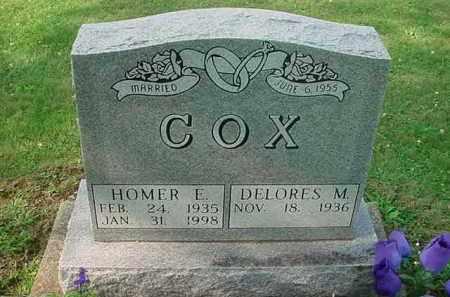 COX, DELORES M - Tuscarawas County, Ohio | DELORES M COX - Ohio Gravestone Photos