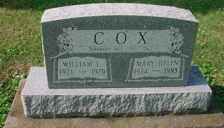 COX, WILLIAM L. - Tuscarawas County, Ohio | WILLIAM L. COX - Ohio Gravestone Photos