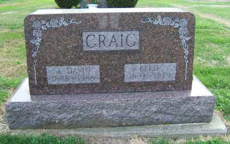 CRAIG, EFFIE - Tuscarawas County, Ohio | EFFIE CRAIG - Ohio Gravestone Photos