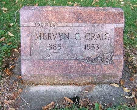 CRAIG, MERVYN C - Tuscarawas County, Ohio | MERVYN C CRAIG - Ohio Gravestone Photos