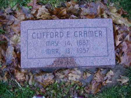 CRAMER, CLIFFORD E. - Tuscarawas County, Ohio | CLIFFORD E. CRAMER - Ohio Gravestone Photos