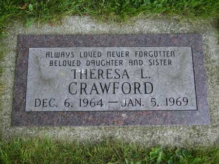 CRAWFORD, THERESA L. - Tuscarawas County, Ohio | THERESA L. CRAWFORD - Ohio Gravestone Photos