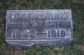 CRITES, CATHARINE - Tuscarawas County, Ohio | CATHARINE CRITES - Ohio Gravestone Photos