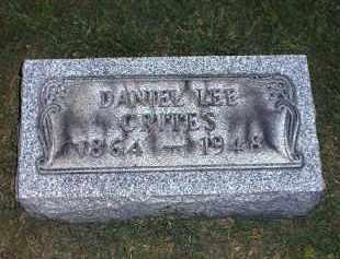 CRITES, DANIEL - Tuscarawas County, Ohio | DANIEL CRITES - Ohio Gravestone Photos