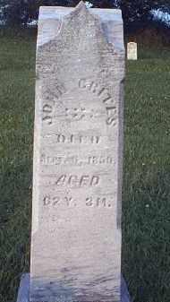 CRITES, JOHN - Tuscarawas County, Ohio | JOHN CRITES - Ohio Gravestone Photos