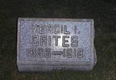 CRITES, VERGIL - Tuscarawas County, Ohio | VERGIL CRITES - Ohio Gravestone Photos