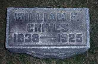 CRITES, WILLIAM F. - Tuscarawas County, Ohio | WILLIAM F. CRITES - Ohio Gravestone Photos