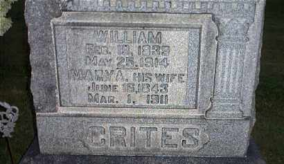 CRITES, WILLIAM - Tuscarawas County, Ohio | WILLIAM CRITES - Ohio Gravestone Photos