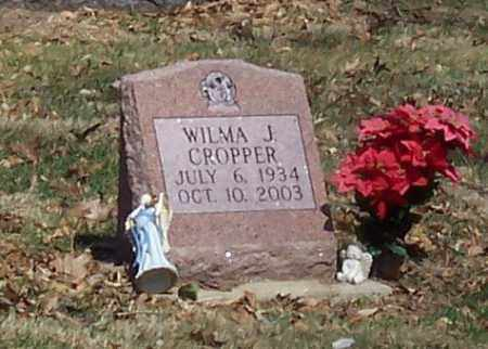 CROPPER, WILMA J. - Tuscarawas County, Ohio | WILMA J. CROPPER - Ohio Gravestone Photos