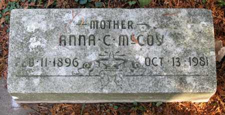 MCCOY CUNNINGHAM, ANNA C - Tuscarawas County, Ohio | ANNA C MCCOY CUNNINGHAM - Ohio Gravestone Photos