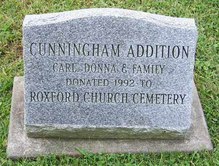 CUNNINGHAM, ADDITION - Tuscarawas County, Ohio | ADDITION CUNNINGHAM - Ohio Gravestone Photos