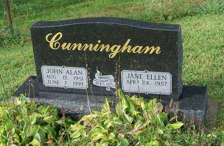 CUNNINGHAM, JANE ELLEN - Tuscarawas County, Ohio | JANE ELLEN CUNNINGHAM - Ohio Gravestone Photos