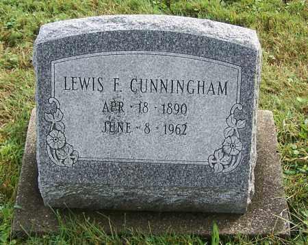 CUNNINGHAM, LEWIS F. - Tuscarawas County, Ohio | LEWIS F. CUNNINGHAM - Ohio Gravestone Photos