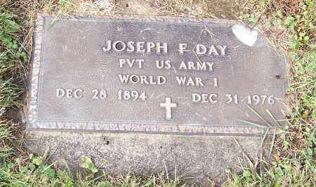 DAY, JOSEPH F.  (MIL) - Tuscarawas County, Ohio | JOSEPH F.  (MIL) DAY - Ohio Gravestone Photos