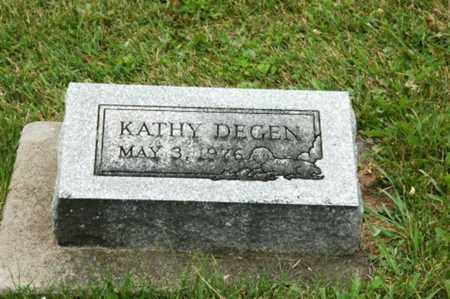 DEGEN, KATHY - Tuscarawas County, Ohio | KATHY DEGEN - Ohio Gravestone Photos