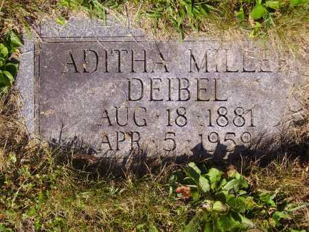 DEIBEL, ADITHA - Tuscarawas County, Ohio | ADITHA DEIBEL - Ohio Gravestone Photos