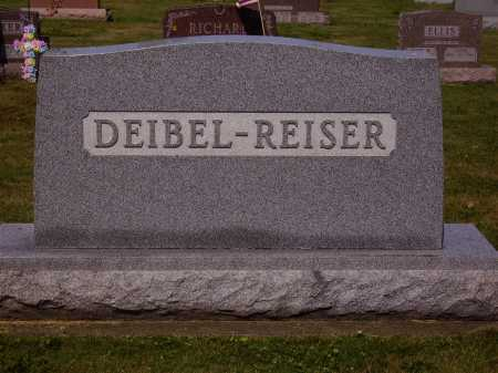 DEIBEL REISER FAMILY, MONUMENT - Tuscarawas County, Ohio | MONUMENT DEIBEL REISER FAMILY - Ohio Gravestone Photos