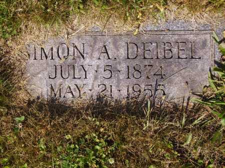 DEIBEL, SIMON A. - Tuscarawas County, Ohio | SIMON A. DEIBEL - Ohio Gravestone Photos