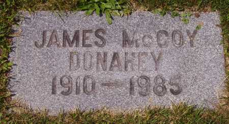 DONAHEY, JAMES MCCOY - Tuscarawas County, Ohio | JAMES MCCOY DONAHEY - Ohio Gravestone Photos