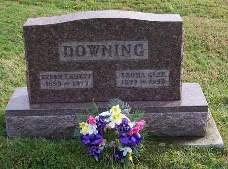DOWNING, LEONA GLEE - Tuscarawas County, Ohio | LEONA GLEE DOWNING - Ohio Gravestone Photos