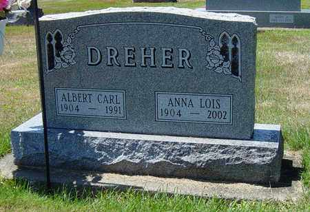 DREHER, ALBERT CARL - Tuscarawas County, Ohio | ALBERT CARL DREHER - Ohio Gravestone Photos