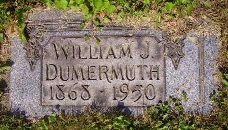 DUMERMUTH, WILLIAM JOHN - Tuscarawas County, Ohio | WILLIAM JOHN DUMERMUTH - Ohio Gravestone Photos