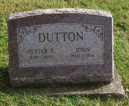 COOK DUTTON, HESTER S. - Tuscarawas County, Ohio | HESTER S. COOK DUTTON - Ohio Gravestone Photos