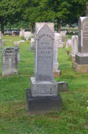 EDIE, SR., JOHN H. - Tuscarawas County, Ohio | JOHN H. EDIE, SR. - Ohio Gravestone Photos