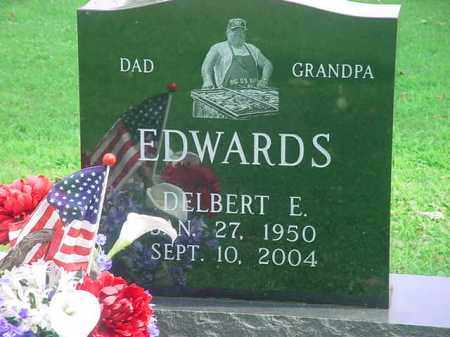 EDWARDS, DELBERT E. - Tuscarawas County, Ohio | DELBERT E. EDWARDS - Ohio Gravestone Photos