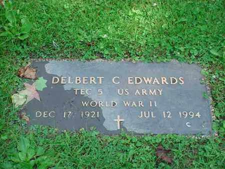 EDWARDS, DELBERT C. - Tuscarawas County, Ohio | DELBERT C. EDWARDS - Ohio Gravestone Photos
