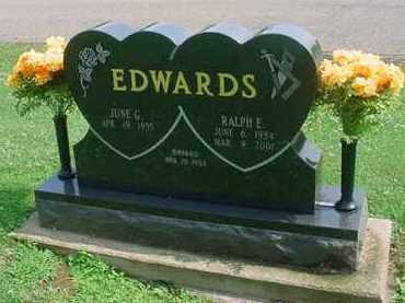 EDWARDS, JUNE G - Tuscarawas County, Ohio | JUNE G EDWARDS - Ohio Gravestone Photos