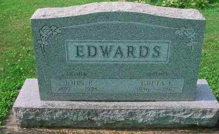 EDWARDS, JOHN P. - Tuscarawas County, Ohio | JOHN P. EDWARDS - Ohio Gravestone Photos