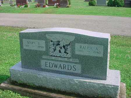 EDWARDS, MARY E - Tuscarawas County, Ohio | MARY E EDWARDS - Ohio Gravestone Photos