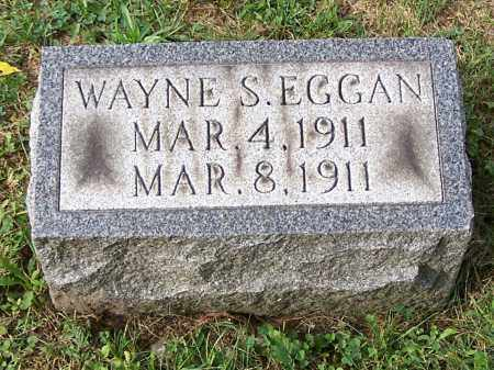 EGGAN, WAYNE S. - Tuscarawas County, Ohio | WAYNE S. EGGAN - Ohio Gravestone Photos
